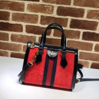 Gucci Ophidia Small GG Supreme Canvas Tote Bag Red 547551
