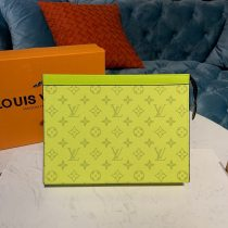 Louis Vuitton Monogram Canvas Pochette Voyage MM Yellow N60241