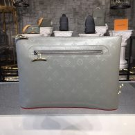 Louis Vuitton Monogram Coated Canvas Pochette Cosmos Bag Grey M63240