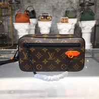 Louis Vuitton Monogram Canvas Kasai Clutch Bag  M44458