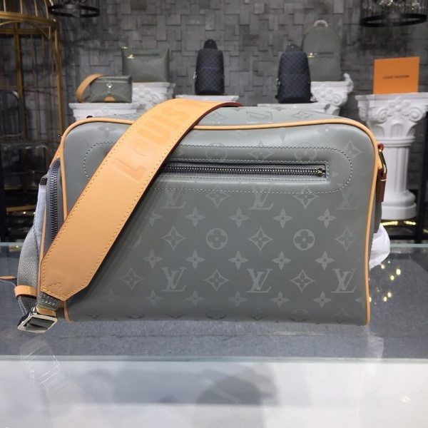 Louis Vuitton Monogram Titanium Canvas Camera Bag M43889