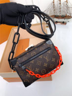 Louis Vuitton Monogram Eclipse Canvas Mini Soft Trunk Bag M44480