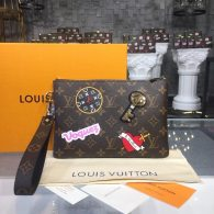 Louis Vuitton Monogram Canvas City Toilet Bag M63447