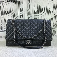 Chanel Original Imported Deer Skin Black 4971