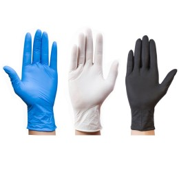 100Pcs Disposable Gloves Latex For Home Cleaning Medical/Food/Rubber/Garden Gloves