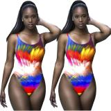 2020 Fashion Sexy Comfortable Breathable Digital Printing Bikini Casual Women's Swimwear Beach Wear 202003178055