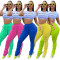 2020 Summer Women's Sweatpants Fold Draw Rope Solid Color Self-cultivation Fashion Leisure 202005185168