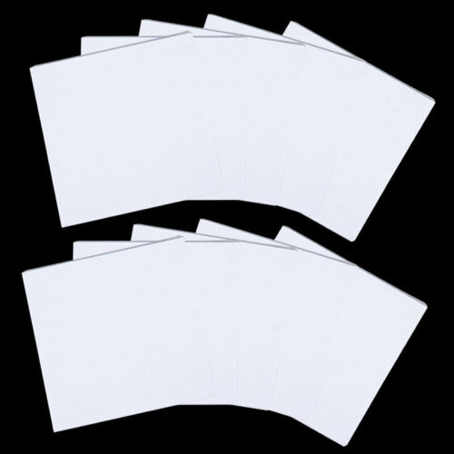 100 Sheets Disposable Dental Mixing Pads Paper Pad Poly Coated 3 Size Optional