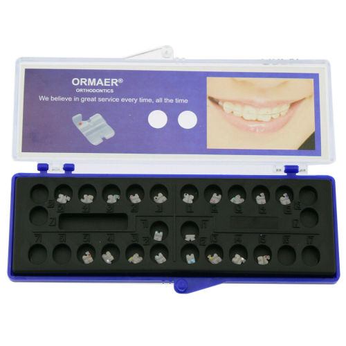 ORMAER Dental Orthodontic Ceramic Braces Brackets 5*5  5 Models Choosable