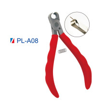 Optical Eyeglasses Adjusting Pliers with silicone handle Frame Bending Bridge Temple Pliers Endpiece Eyewear Eye Glasses Parts Hand Repairing Repair Tool(PL-A08 Front Cutting Plier)