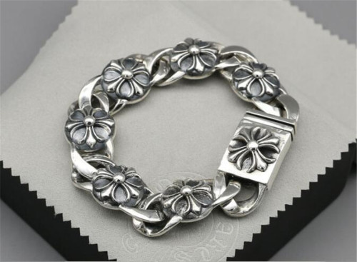 CHROME HEARTS BRACELET Sterling Silver Bracelet Domineering CHB075