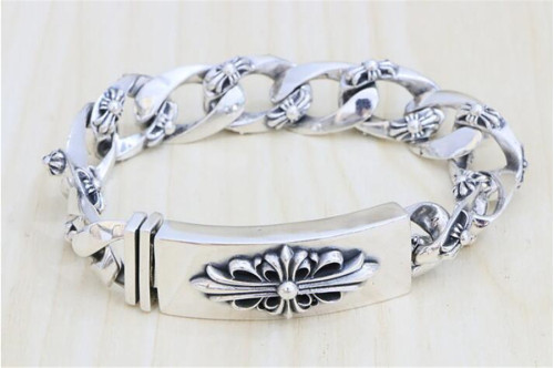 CHROME HEARTS BRACELET Cross Gothic Punk Style CHB090