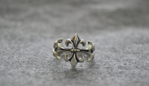 Chrome Hearts LOGO Ring CHR052 Solid 925 Sterling Silver