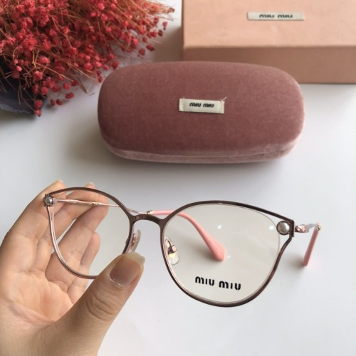 Wholesale Replica 2020 Spring New Arrivals for MIU MIU Eyeglasses MU53QV Online FMI160