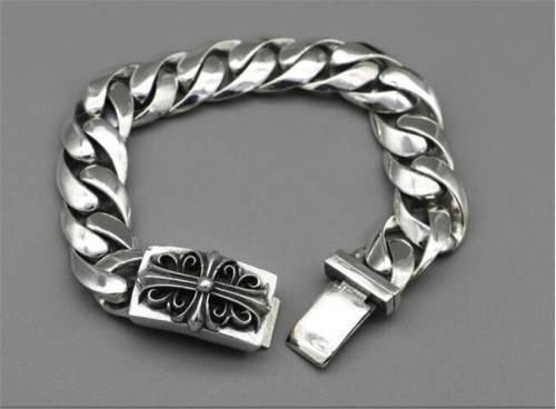 CHROME HEARTS BRACELET Punk Jewelry Cross Rough Bracelet CHB074