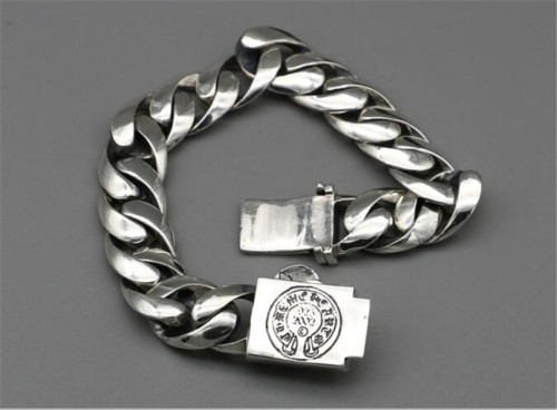 CHROME HEARTS BRACELET big tongue thick punk CHB088