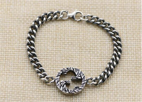 CHROME HEARTS BRACELET Sterling Silver Bracelet Twist CHB079