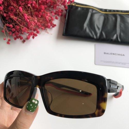 Wholesale Copy BALENCIAGA Sunglasses BB0026SA Online SBA002