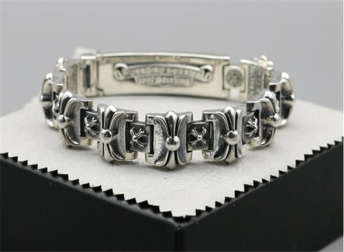 CHROME HEARTS BRACELET Rock Style Vintage Genuine Sterling Silver CHB071