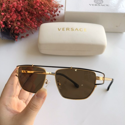 Wholesale Replica 2020 Spring New Arrivals for VERSACE Sunglasses MOD1257 Online SV164