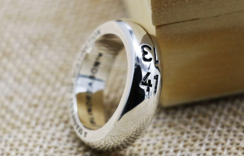 Chrome Hearts Open Ring CHR075 925 Sterling