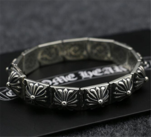 CHROME HEARTS BRACELET Vintage Roman Cross Grasps CHB095