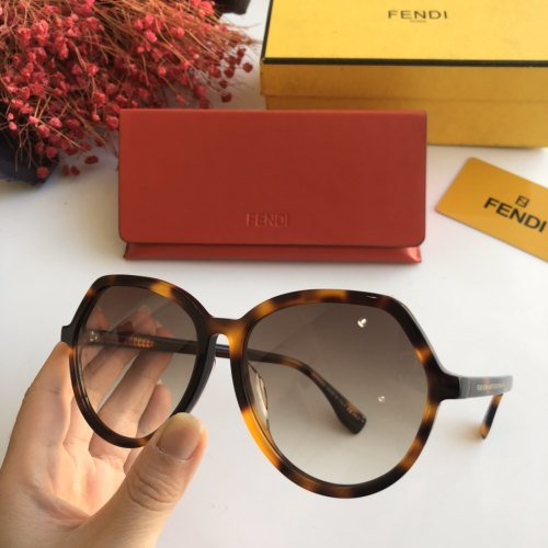 Copy FENDI Sunglasses FF0397 Online SF114