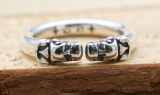 Chrome Hearts Rings CHR122 Solid 925 Sterling Silver