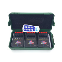 12 Cue Wireless Fireworks Firing system equipment+Remote control