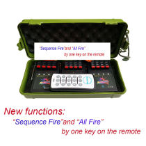 12CH Wireless Fireworks Firing System New remote function 4th of July display