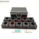 10 Cues Wireless Fireworks firing system Cold Firework Fountain Remote Control