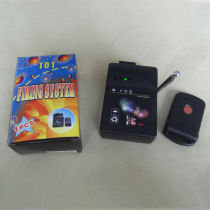 1Channels Fireworks Firing System+Rapid Fire+Salvo fire+program