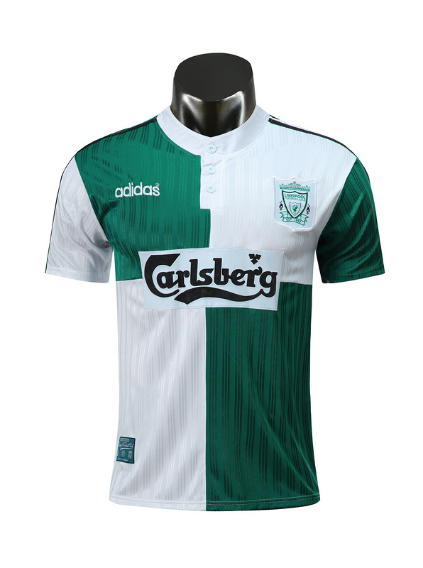 1995 / 1996 Liverpool away Soccer Jersey