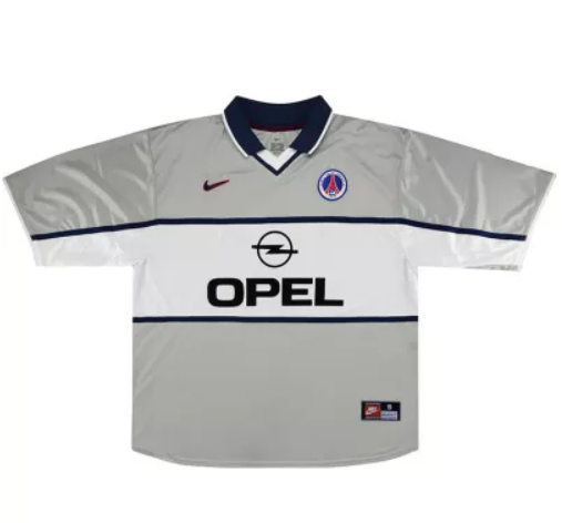 2000-2001 Paris Saint-Germain Away Retro Jersey