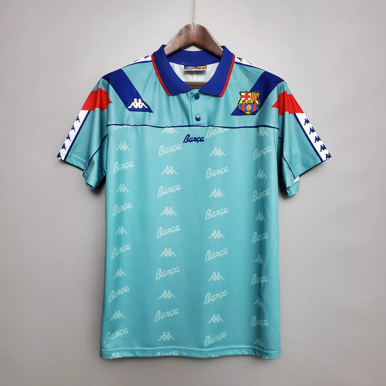 Mens Barcelona Retro Away Jersey 1992-95