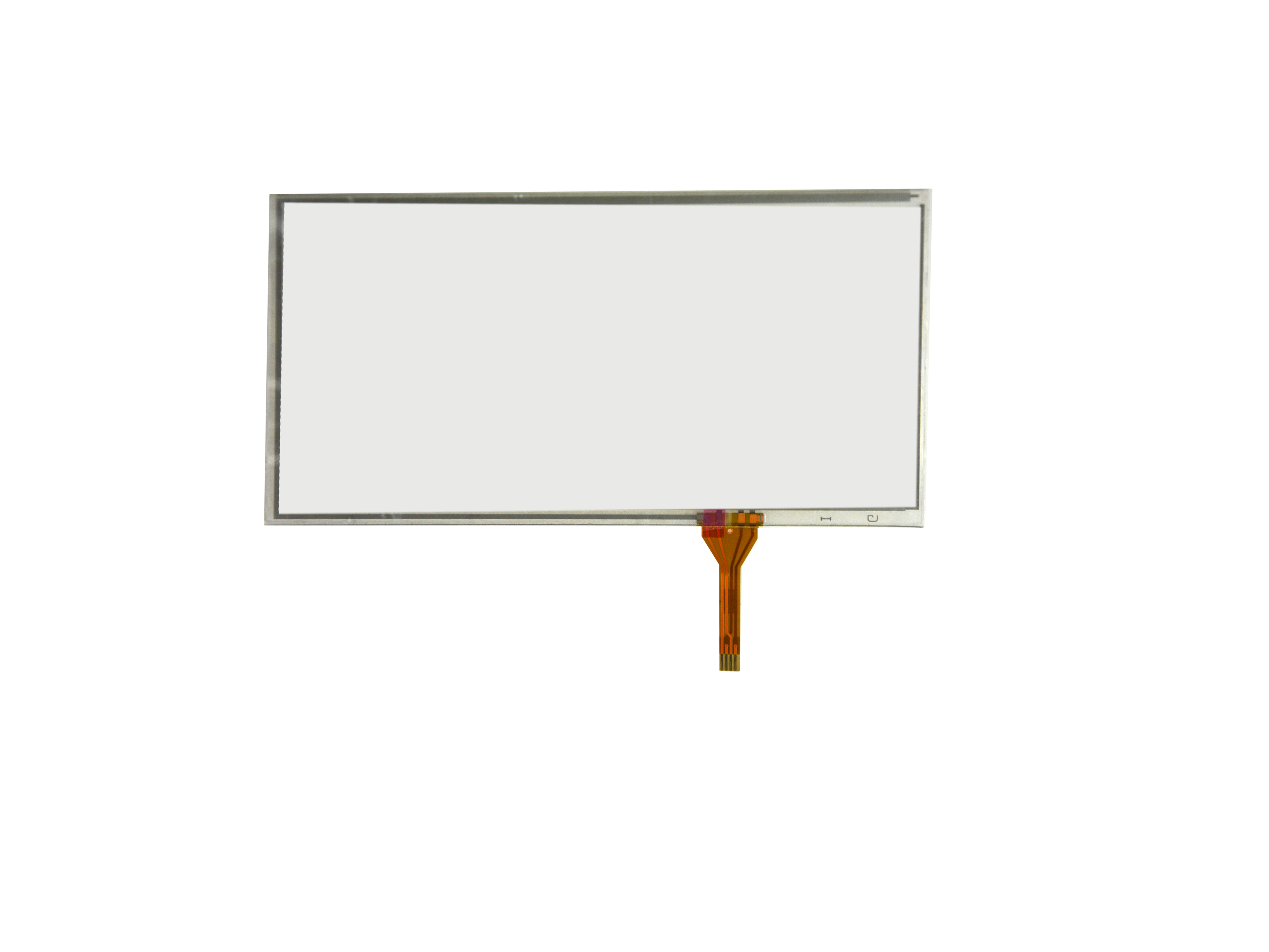 6inch 4 Wire Resistive Touch Panel 149mm x 83mm Handwriting Screen For GPS KDT