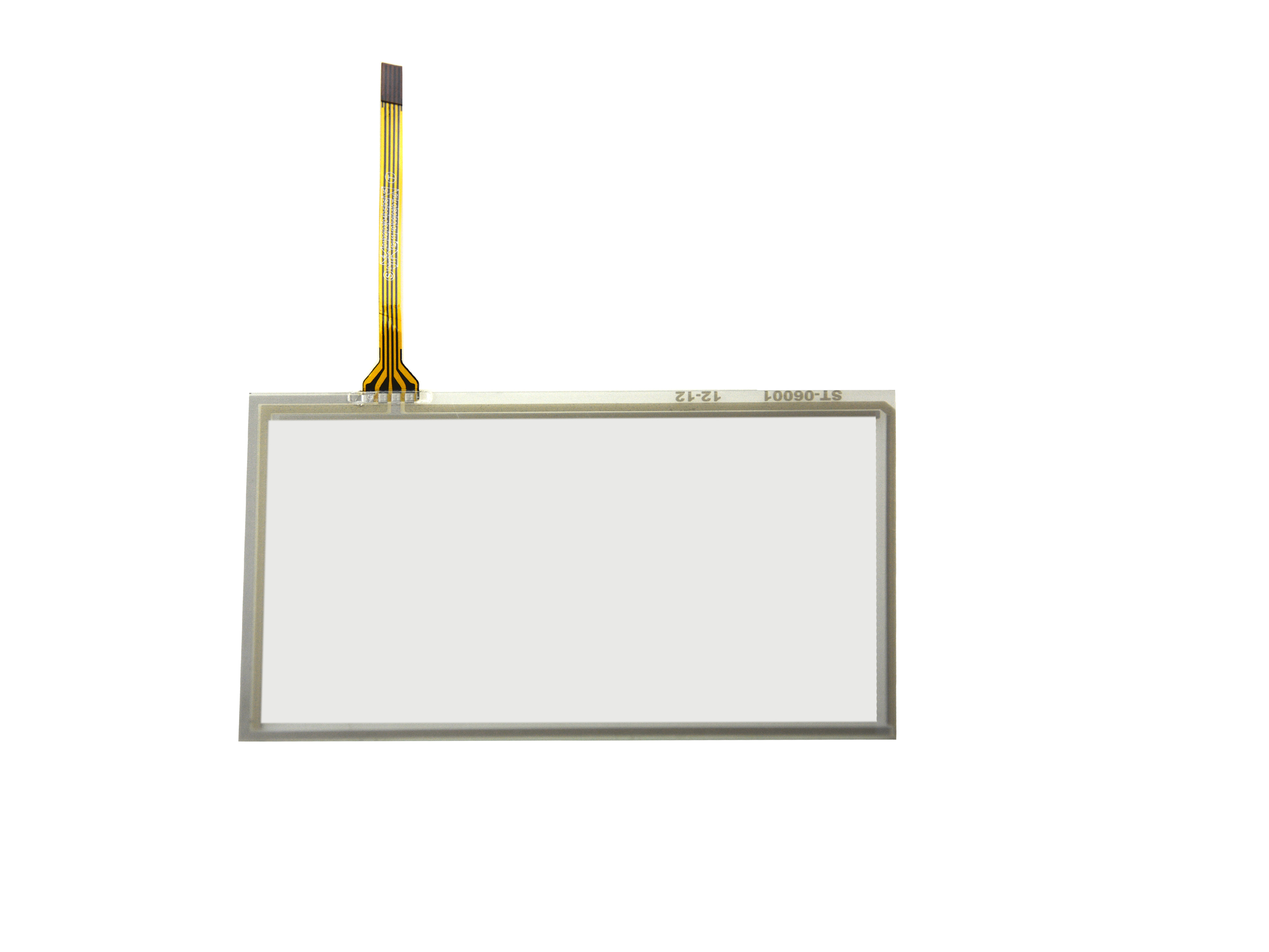 6inch 4 Wire Resistive Touch Panel 145mm x 87mm Handwriting Screen For GPS