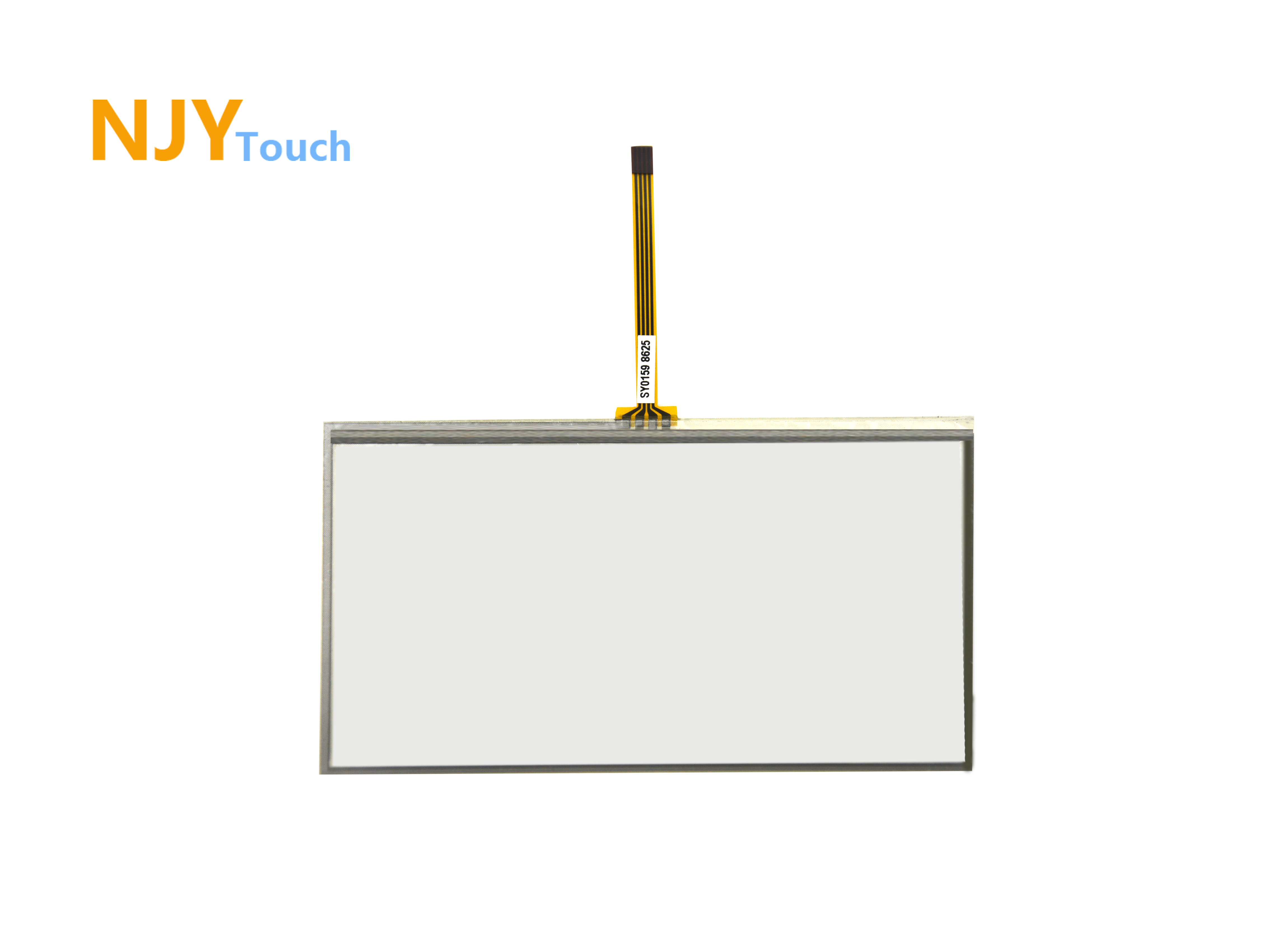 6.2 inch 4 Wire Resistive Touch Panel 150mm x 90mm Handwriting Screen GPS