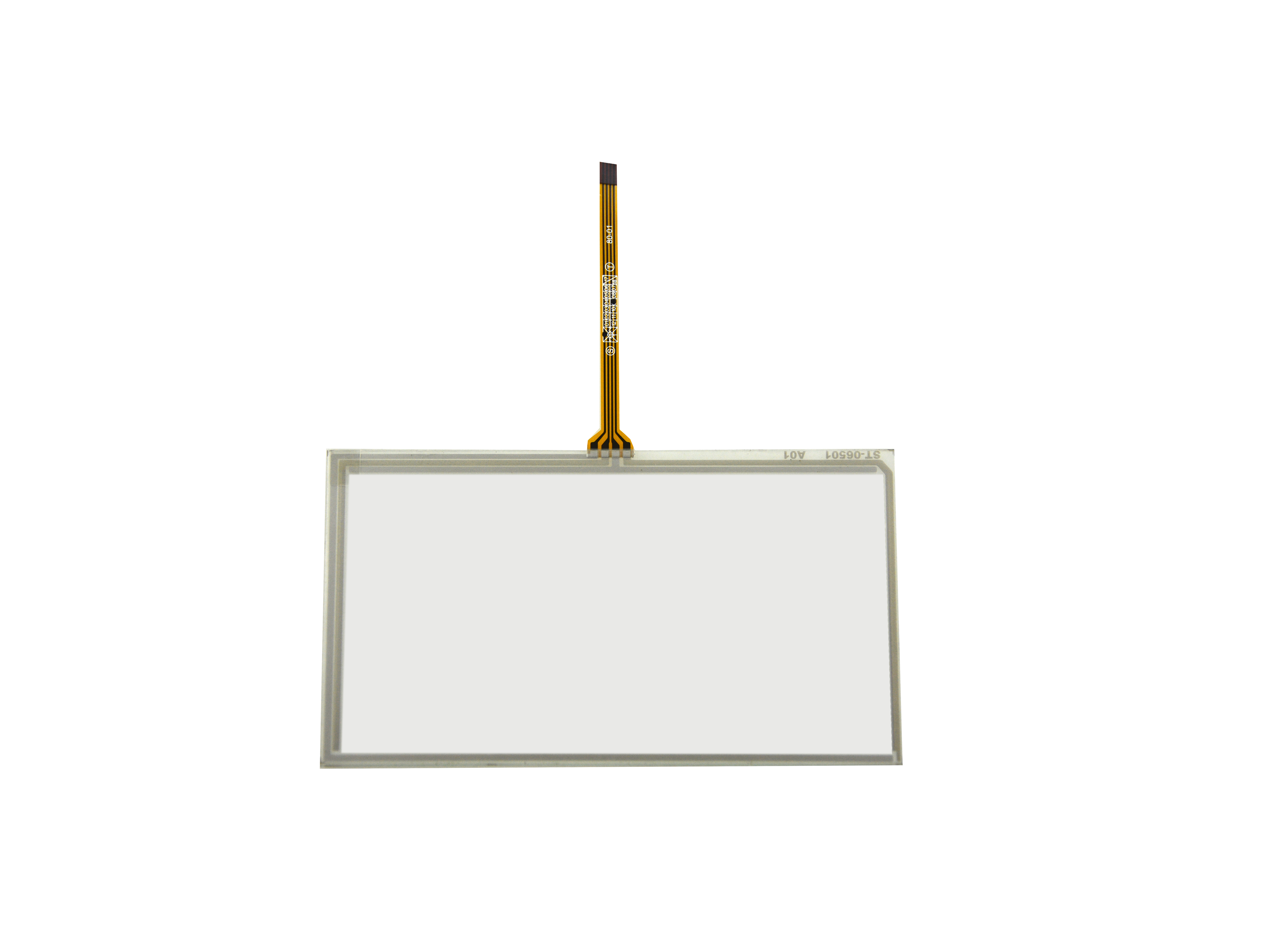 6.2inch 4 Wire Resistive Touch Panel 154mm x 88mm For 6.2  LCD Screen GPS