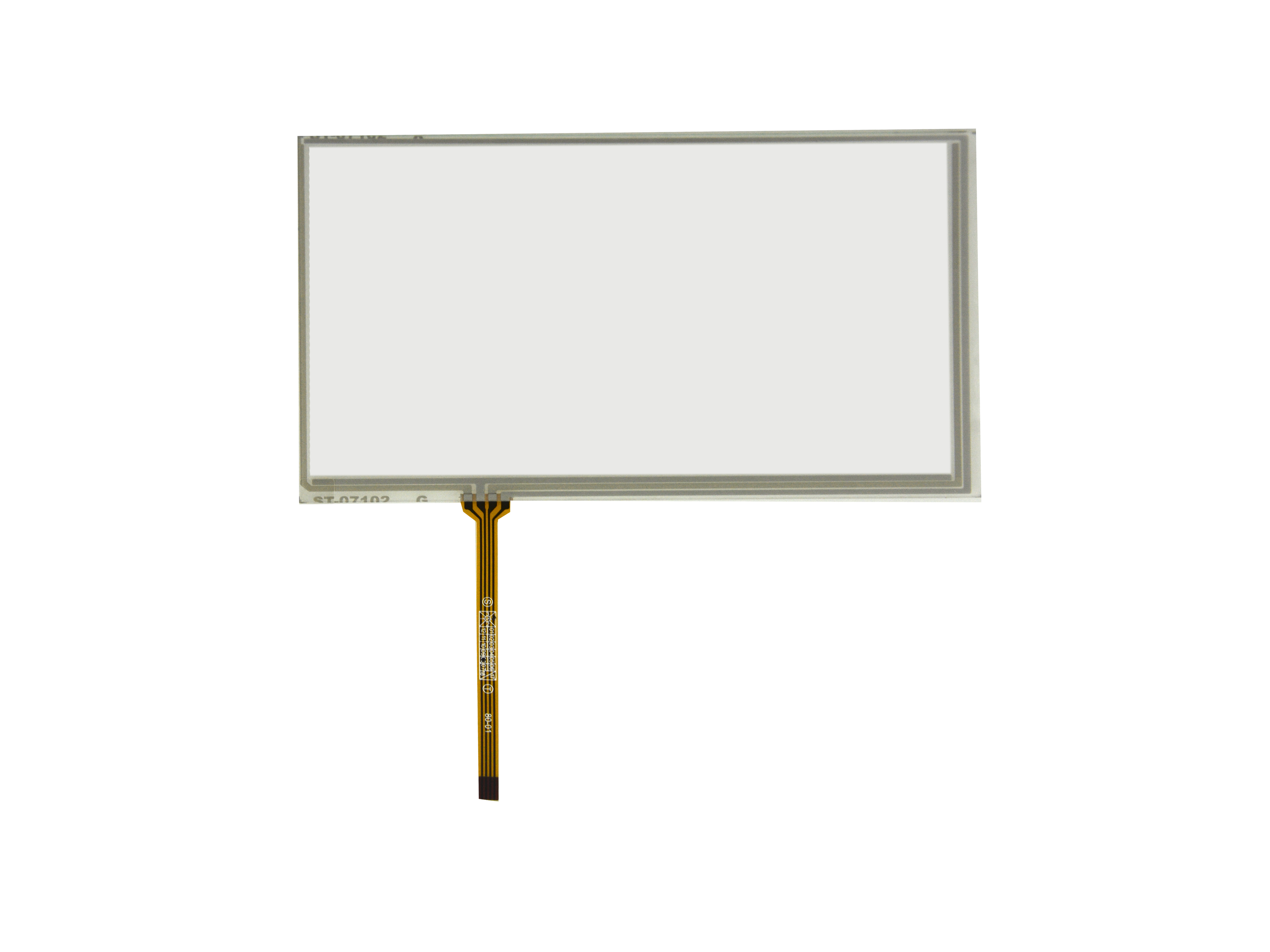 7inch 4 Wire Resistive Touch Panel 164mm x 103mm For 7  AT070TN82 LCD Screen