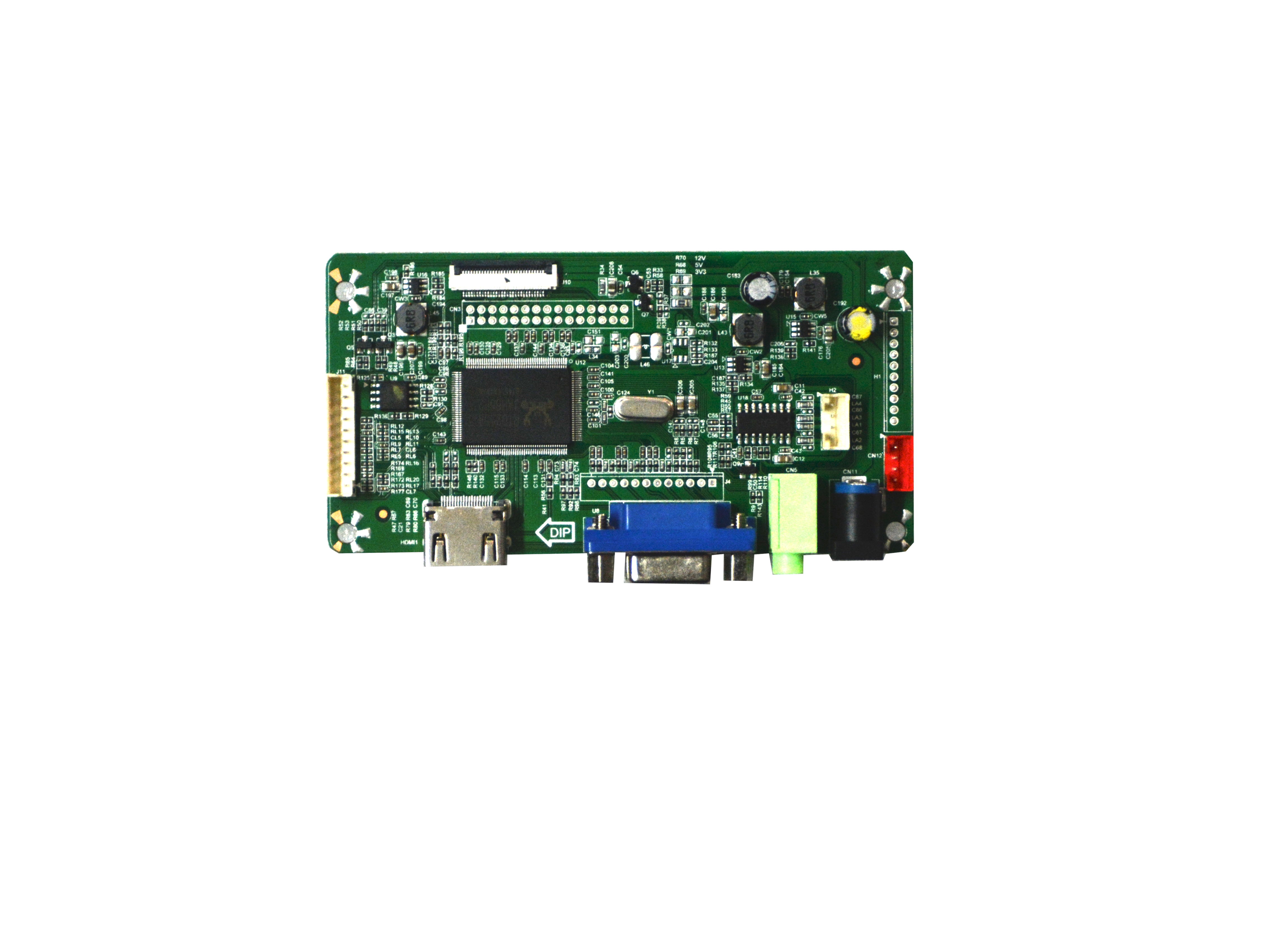 NJYTouch VGA HDMI eDP LCD Controller Board for B156XTT01.1 N156BGK-E33 1366X768 Screen