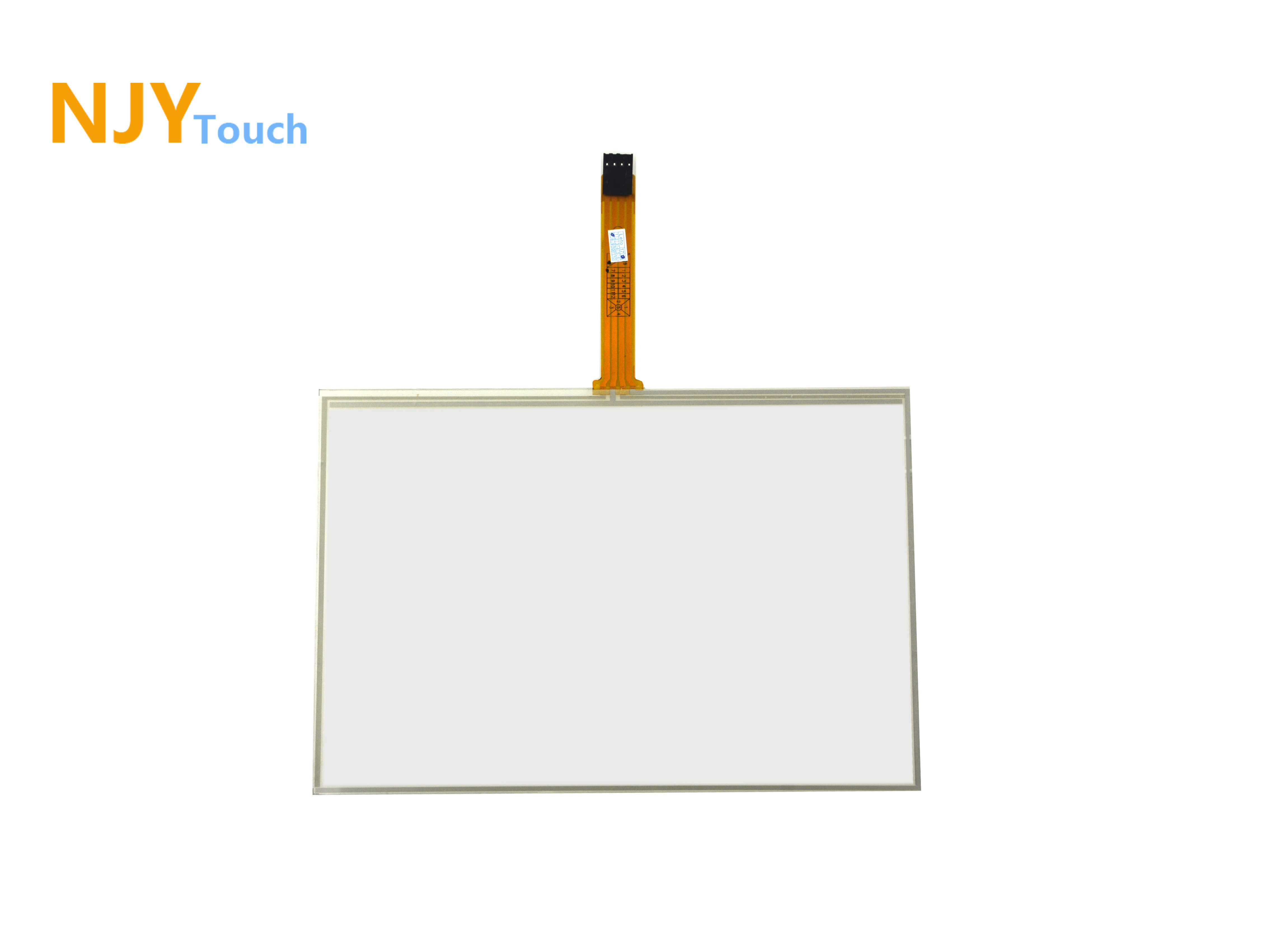 9.7inch 4 Wire Resistive Touch Panel 210 x 164mm Industrial Control Touch Glass