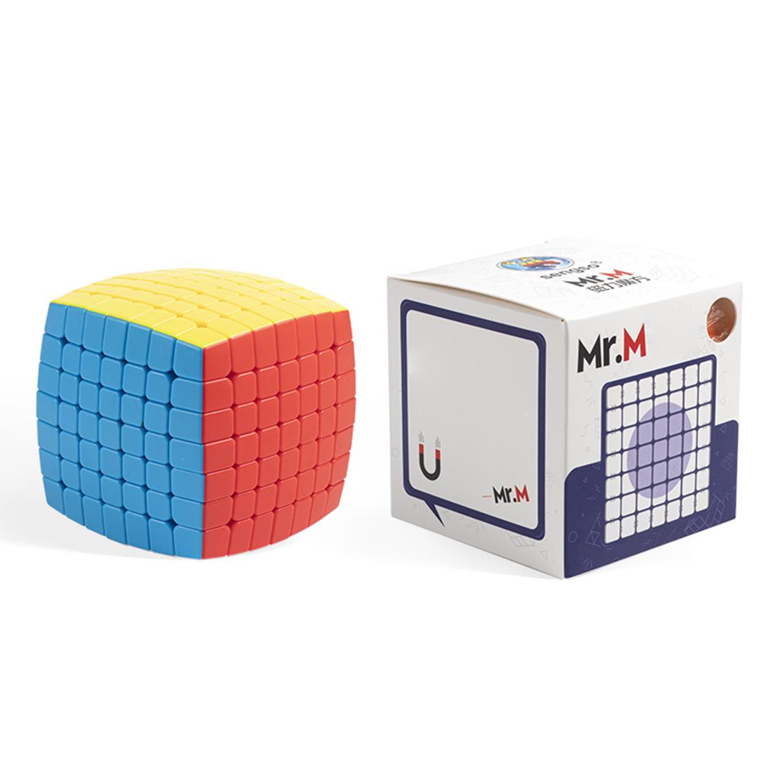Shengshou mr m magnetic//3 layers magic cube puzzle-stickerless