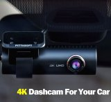 2020 latest 4K UHD wide-angle lens car drive recorder, built-in WIFI dashboard and GPS ( Mother's Day Special!)