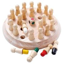 Kids Wooden Memory Match Stick Chess Game