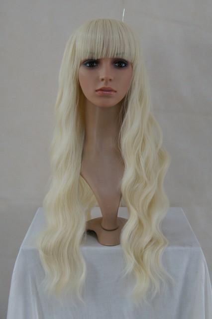 Platinum Blonde Lolita Wavy Wig Princess Wigs