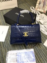 1:1 original leather Chanel coco handle tote shoulder bag A93050 00030 top quality