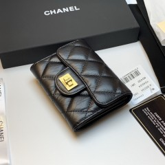 1:1 original leather Chanel wallet clutch bag 80234 00130 top quality