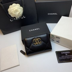 1:1 original leather Chanel women wallet sale P0945 00121 top quality