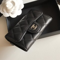 1:1 original leather Chanel wallet outlet 80799 00124 top quality